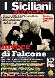maggio 2013 - I Siciliani giovani