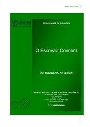O Escrivão Coimbra - Unama