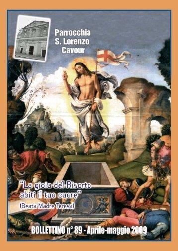 Bollettino Parrocchiale n. 89 - Cavour