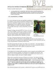 Leer el artículo - Paseo Virtual por Extremadura