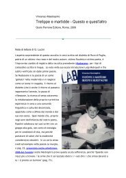 Nota di Lucini su Poiein - Vincenzo Mastropirro