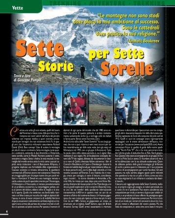 Vette: Sette storie per sette sorelle - Viaggi Avventure nel mondo