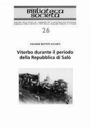 Viterbo durante i periodo della Repubblica di Salò - Biblioteca ...