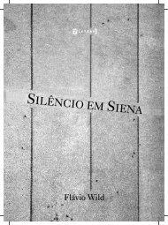 MIOLO_SILÊNCIO EM SIENA_Flávio Wild.cdr - Livraria Martins Fontes