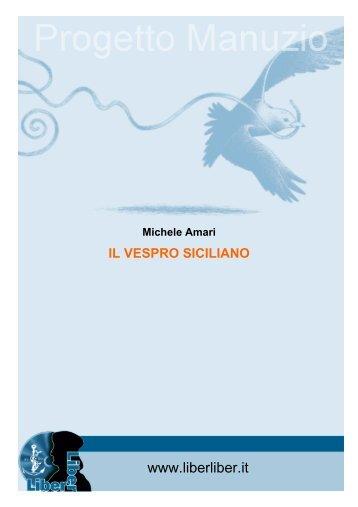 vespro siciliano - Liber Liber
