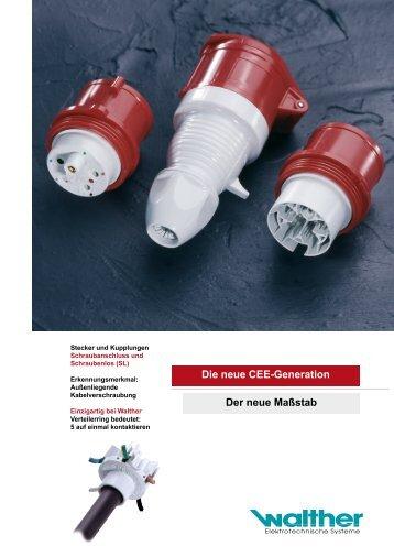 neuen Produktinformation - Walther