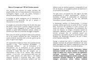 Saluto di apertura al Convegno per i cento anni del Corriere ...