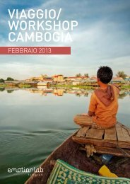 VIAGGIO/ WORKSHOP CAMBOGIA - Emotionlab Fotografi