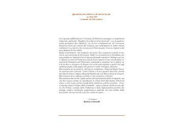 Quaderni di cultura e di storia locale a cura del ... - Silvano Danesi
