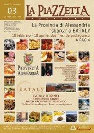 La Provincia di Alessandria 'sbarca' a EATALY - diAlessandria.it