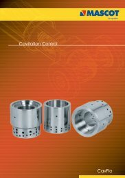 CavFlo Cavitation Control - Mascot-valves, globe valve, v-notch ...