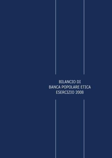 Bilancio d'esercizio al 31.12.2008 - Comune di Rimini