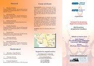 Programma della giornata di formazione - Avis