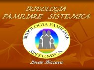 raduno iridologia familiare sistemica