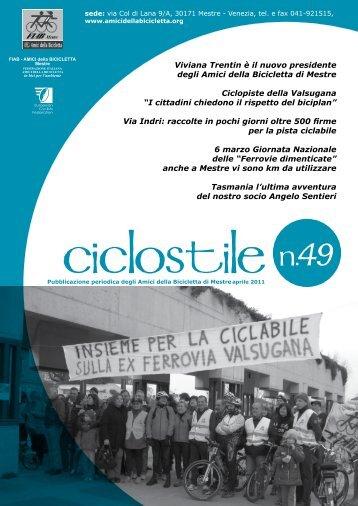 Ciclostile n. 49 - Amici della Bicicletta di Mestre