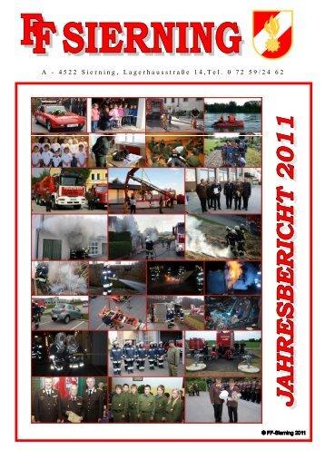 Jahresbericht 2011 - Freiwillige Feuerwehr Sierning