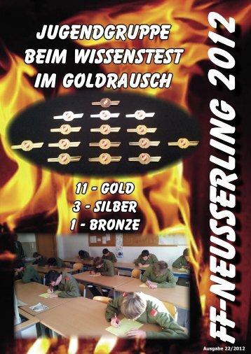 Jahresbericht 2012 - FF Neusserling