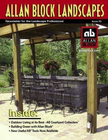 Allan Block Landscape Lifestyles Newsletter Issue 23