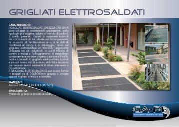 GRIGLIATI ELETTROSALDATI - GA-PI Snc