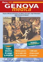 Marzo - Ordine dei medici-chirurghi ed odontoiatri della provincia di ...