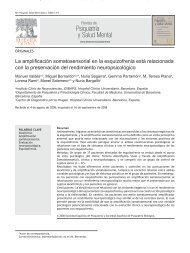 Psiquiatría y Salud Mental - Servicio de Información sobre ...