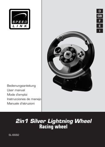 2IN1 SILVER LIGHTNING WHEEL SL-6682 TELECHARGER PILOTE