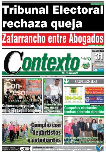 31 - Contexto de Durango