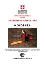 Motosega - Istituto per le Macchine Agricole e Movimento Terra - Cnr