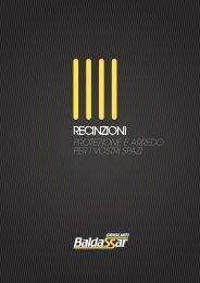 Download Catalogo Recinzioni e Cancelli - Grigliati Baldassar