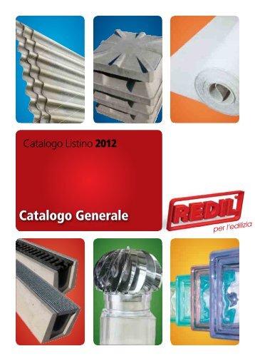 Catalogo Generale - Redil