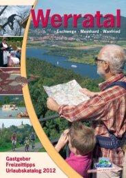 Urlaubskatalog 2012 - Werratal Tourismus