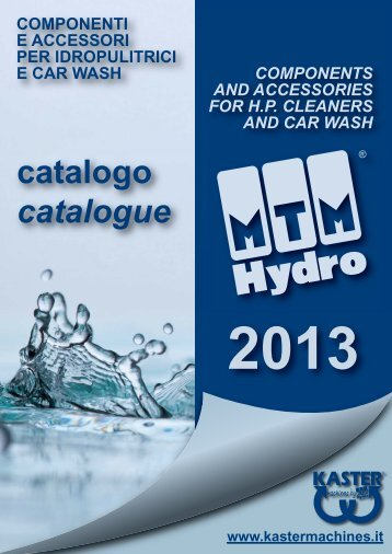 catalogo catalogue - mtm hydro