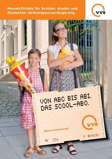Bestellschein Verbundpass: Schüler und Azubi