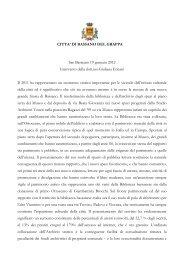Discorso Dirigente Giuliana Ericani.pdf - Comune di Bassano del ...