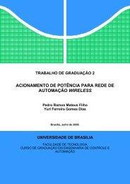 Trabalho de Graduao 2 - Verso 3.0 - LARA - UnB