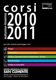 2010 - Centro Linguistico Culturale San Clemente