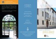 anno accademico - ISSR Portogruaro