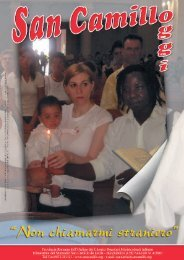 San Camillo Oggi 4 - 2007 - SAN CAMILLO DE LELLIS di Bucchianico