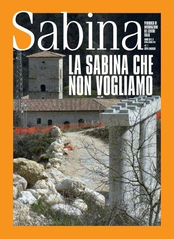 Leggi il PDF della rivista Sabina Magazine Aprile-Giugno 2011.