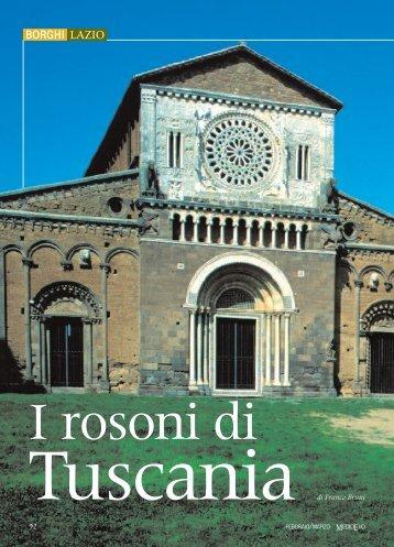 """I rosoni di Tuscania , """"Medioevo"""""""