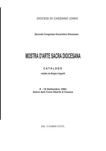 mostra d'arte sacra diocesana catalogo - Chiesa Cattolica Italiana