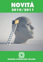 scarica il catalogo - Edizioni Scientifiche Italiane