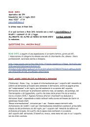 RIAB INFO Aperiodico del IPY Newsletter del 11 luglio 2010 Anno ...