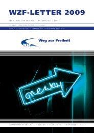 WZF-LETTER 2009 - Weg zur Freiheit
