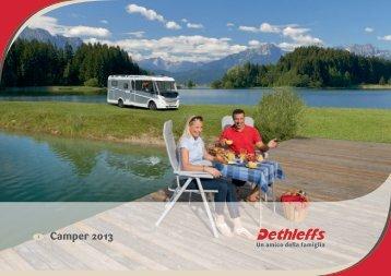 Catalogo Motorcaravans 2013 - Dethleffs
