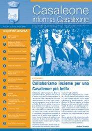 Marzo 2008 - Comune di Casaleone