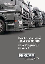 Scarica la brochure informativa - Fercam-trasporti.com