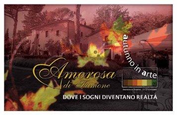 Scarica la Brochure - Villa Amorosa di Fumone