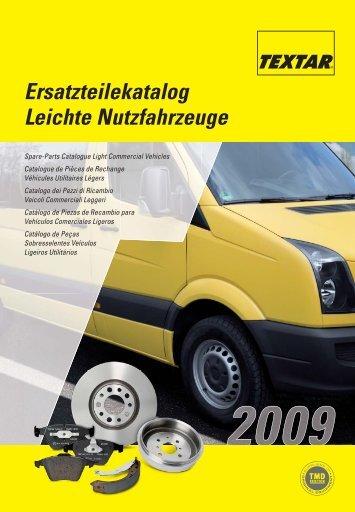 Textar LCV Catalogue - Grupo Herres