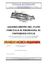 Relazione tecnica - Comune di Cartoceto